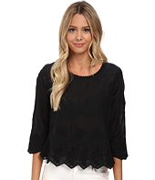 Velvet by Graham & Spencer - Milio Embellished Top