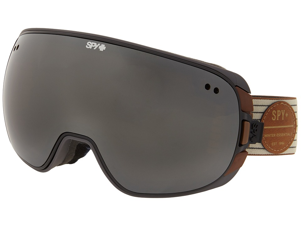 Spy Optic Doom Heritage White/Bronze/Silver Mirror/Blue Contact Snow Goggles
