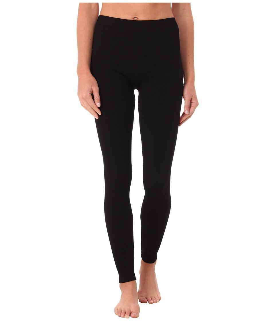 Terramar 3.0 Seamless Footless Leggings W8902 Black Cable Womens Casual Pants