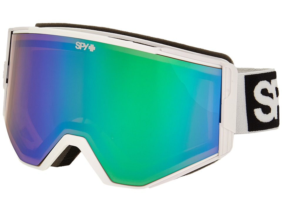 Spy Optic Ace (White/Bronze/Green Spectra/Yellow) Goggles