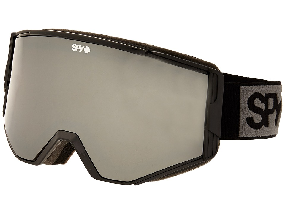 Spy Optic Ace Black/Bronze/Silver Mirror/Persimmon Goggles