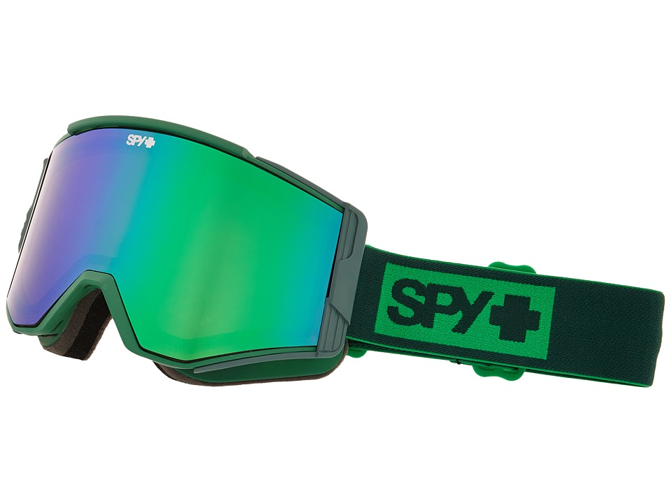 Spy Optic Ace Elemental Green/Bronze/Green Spectra/Yellow Goggles