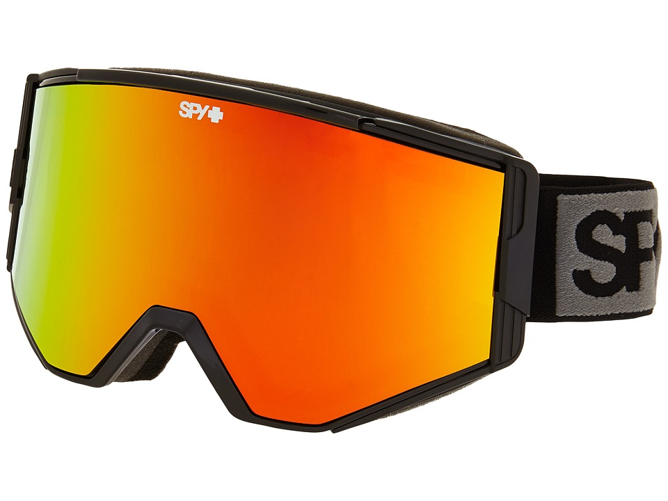 Spy Optic Ace Black/Bronze/Red Spectra/Blue Goggles