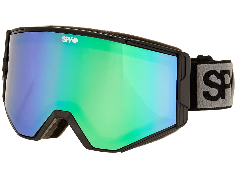 Spy Optic Ace (Black/Bronze/Green Spectra/Yellow) Goggles