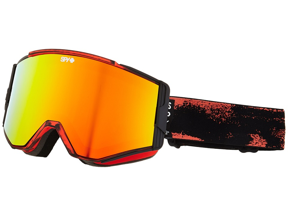 Spy Optic Ace Masked Red/Bronze/Red Spectra/Blue Goggles