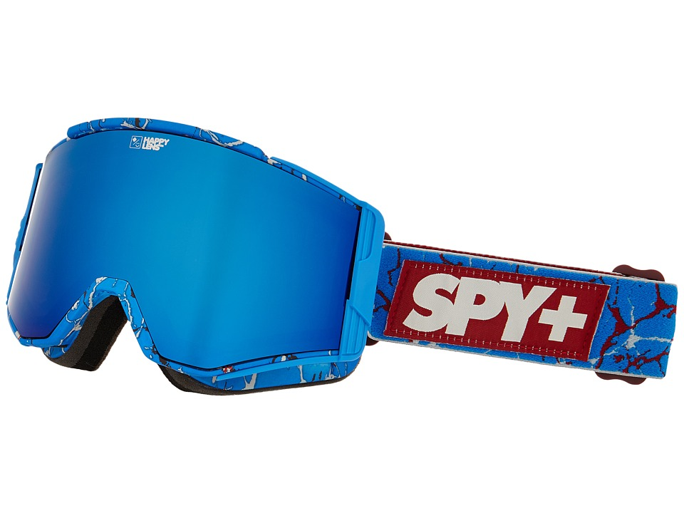 Spy Optic Ace Spy/Louie Vito/Happy Bronze/Dark Blue Spectra/Happy Persimmon Goggles
