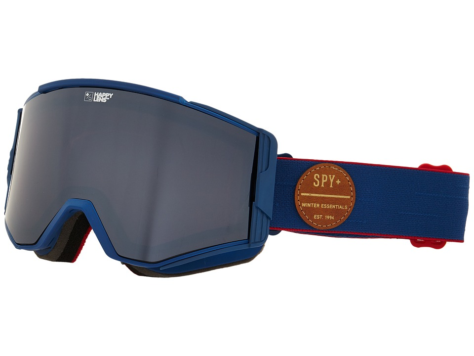 Spy Optic Ace Heritage Navy/Happy Bronze/Silver Mirror/Happy Persimmon Goggles