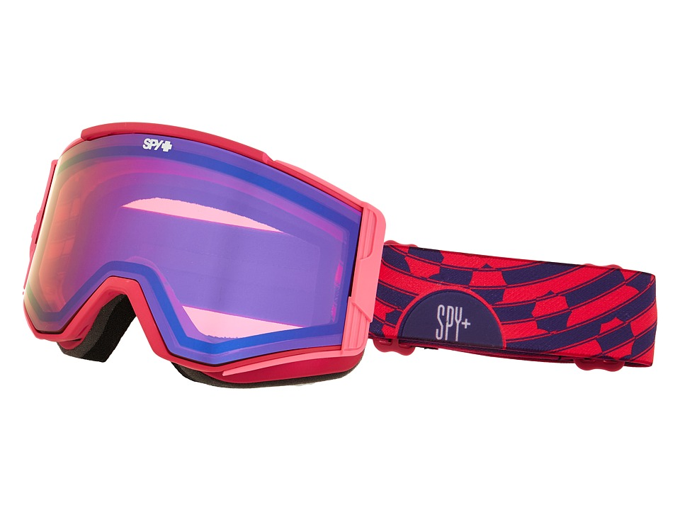 Spy Optic Ace Raspberry Swirl/Pink/Dark Blue Spectra/Pink Goggles
