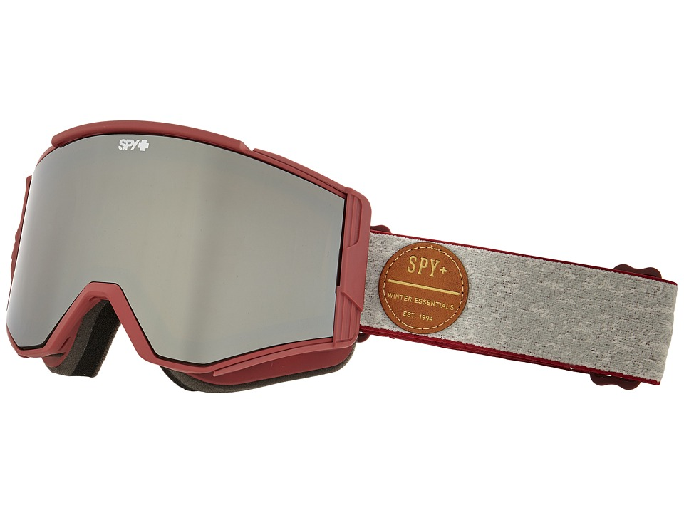 Spy Optic Ace Heritage Red/Bronze/Silver Mirror/ Persimmon Goggles