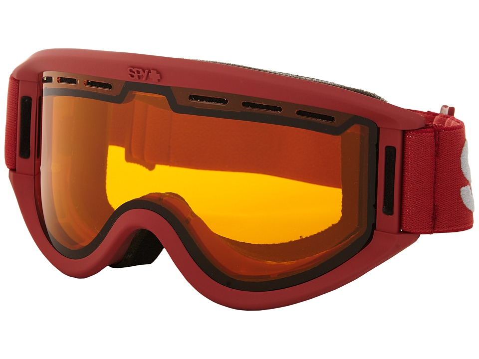 Spy Optic Getaway (Matte Burgundy/Persimmon) Goggles