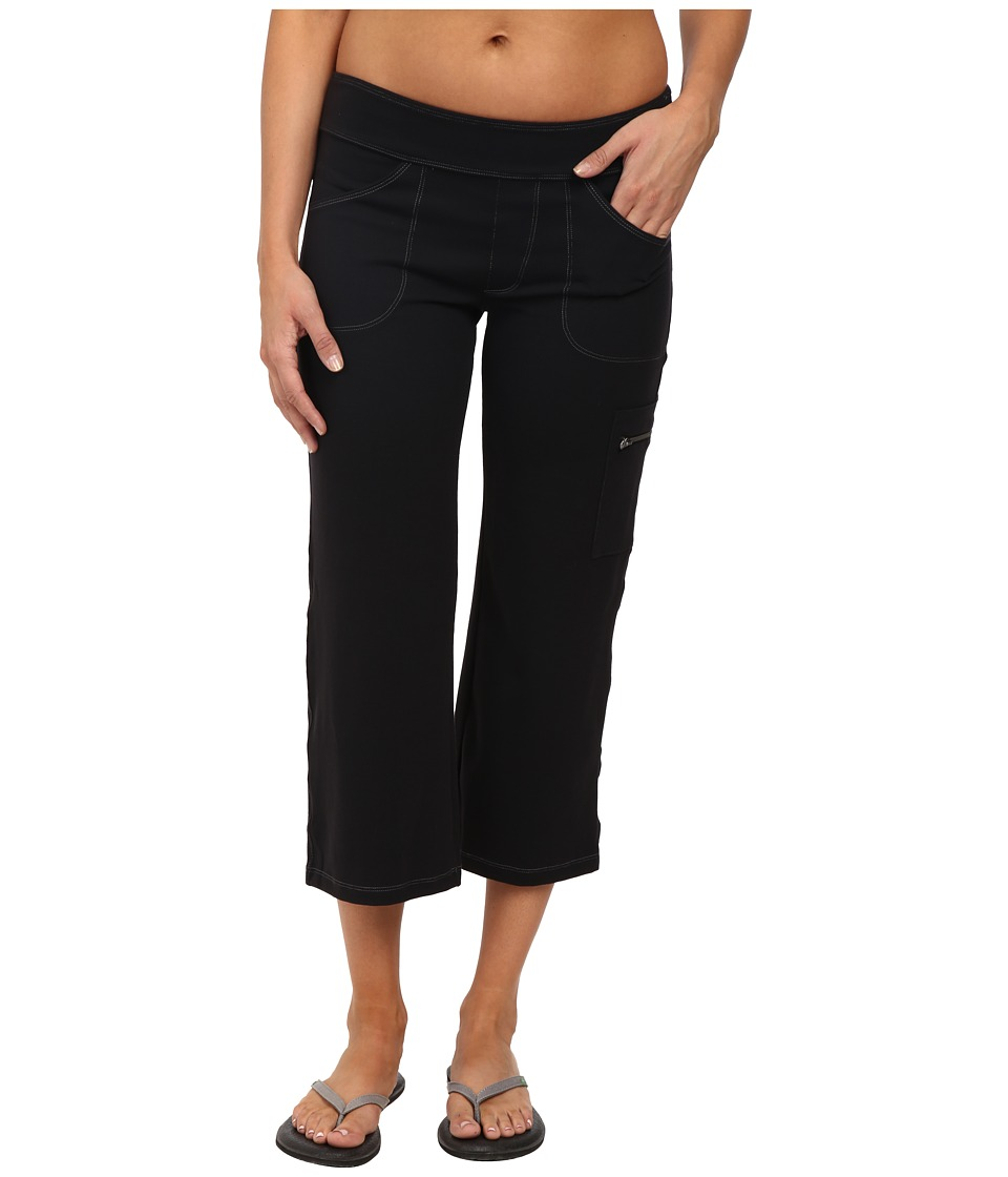 Stonewear Designs Compass Capris Black Womens Capri