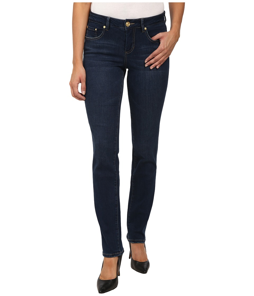 Jag Jeans Patton Mid Rise Straight Republic Denim in Blue Shadow Blue Shadow Womens Jeans