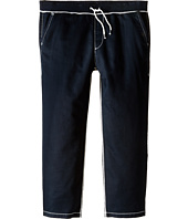 True Religion - Contrast Wide Leg Big T Sweatpants