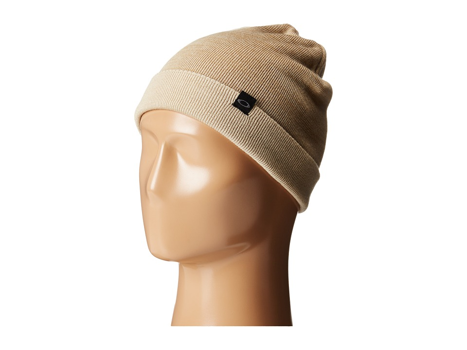 Oakley V Rock Beanie Wood Gray Beanies