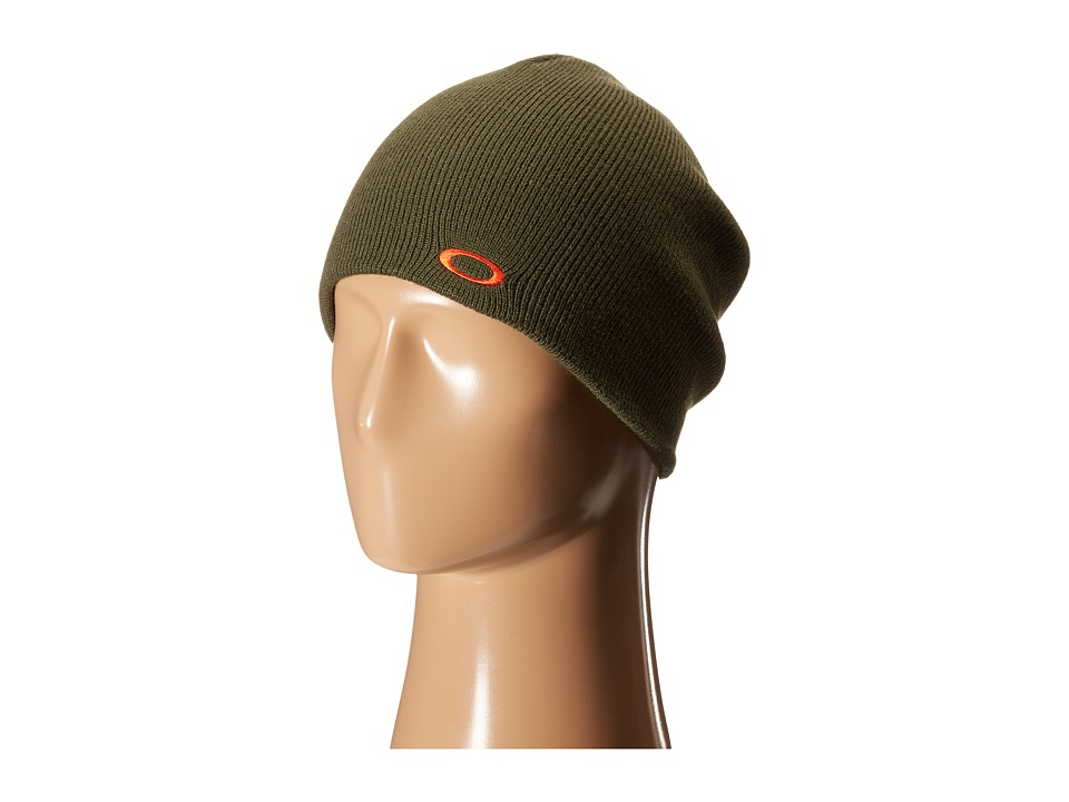 Oakley Fine Knit Beanie Herb Knit Hats
