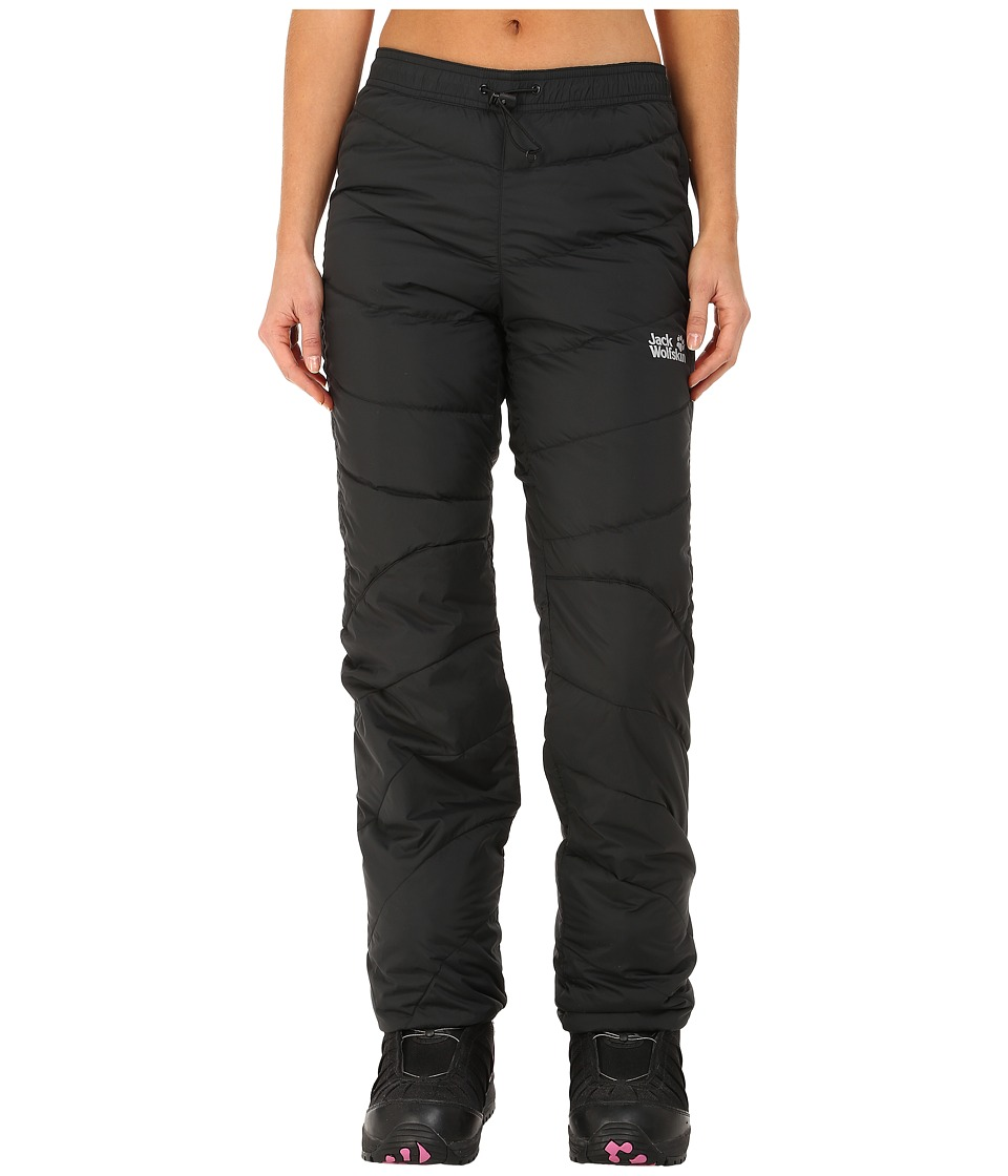 Jack Wolfskin - Atmosphere Down Pants (Black) Womens Casual Pants