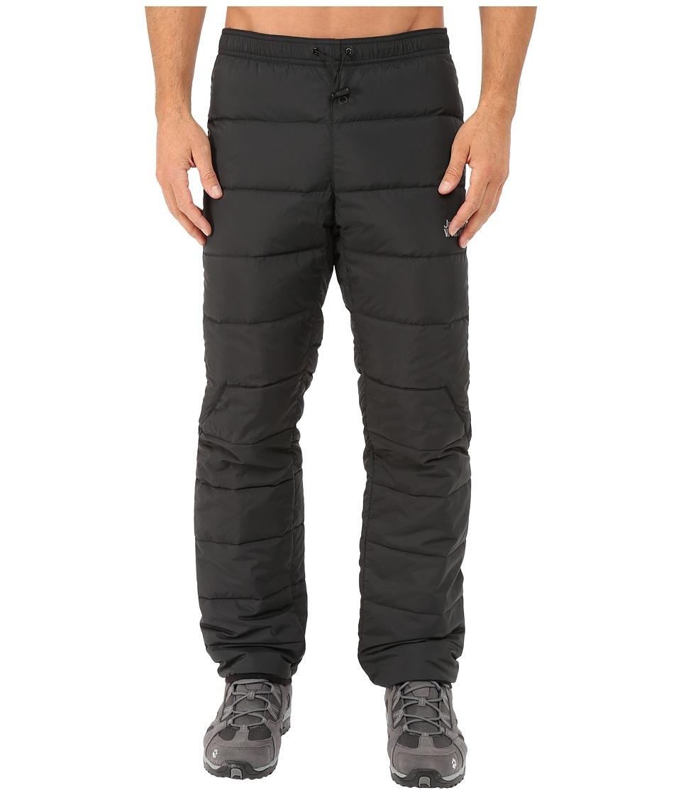 Jack Wolfskin Atmosphere Down Pants (Black) Men's Casual ...