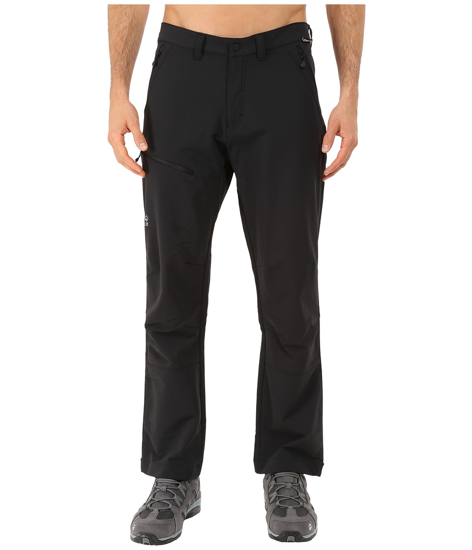 Jack Wolfskin Activate Pants Short Black Mens Casual Pants