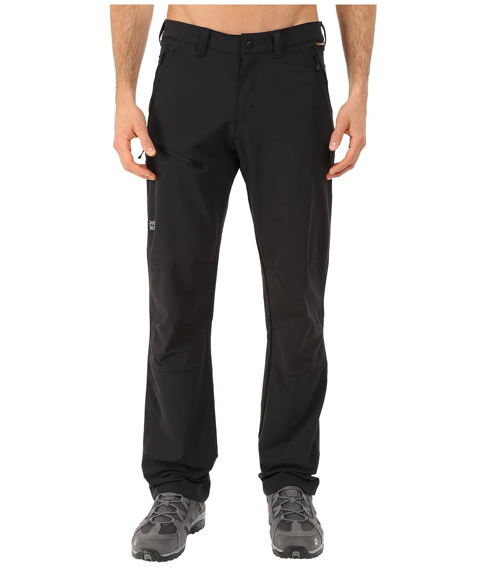 Jack Wolfskin Activate Pants Tall Black Mens Casual Pants
