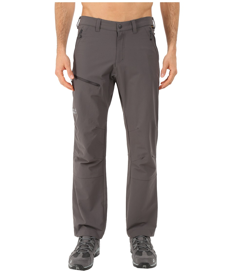 Jack Wolfskin Activate Pants Normal Dark Steel Mens Casual Pants