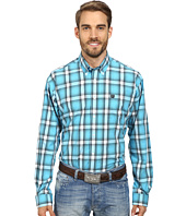 Cinch - Long Sleeve Plain Weave Plaid Shirt