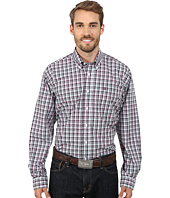 Cinch - Long Sleeve Plain Weave Print Shirt