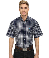 Cinch - Short Sleeve Plain Weave Plaid Shirt