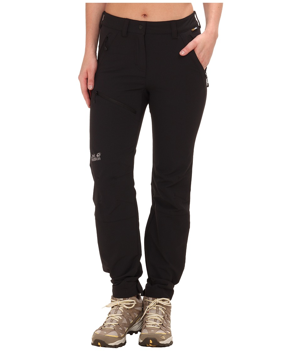 Jack Wolfskin Activate Pants Black Womens Casual Pants