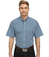 Cinch - Short Sleeve Plain Weave Print Shirt