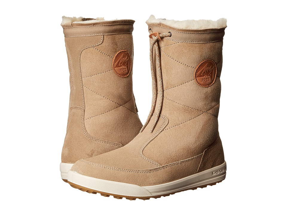 Lowa Dalarna Mid Light Brown Womens Cold Weather Boots