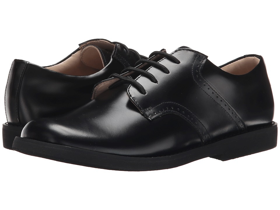 Elephantito Scholar Golfers Toddler/Little Kid/Big Kid Black Boys Shoes