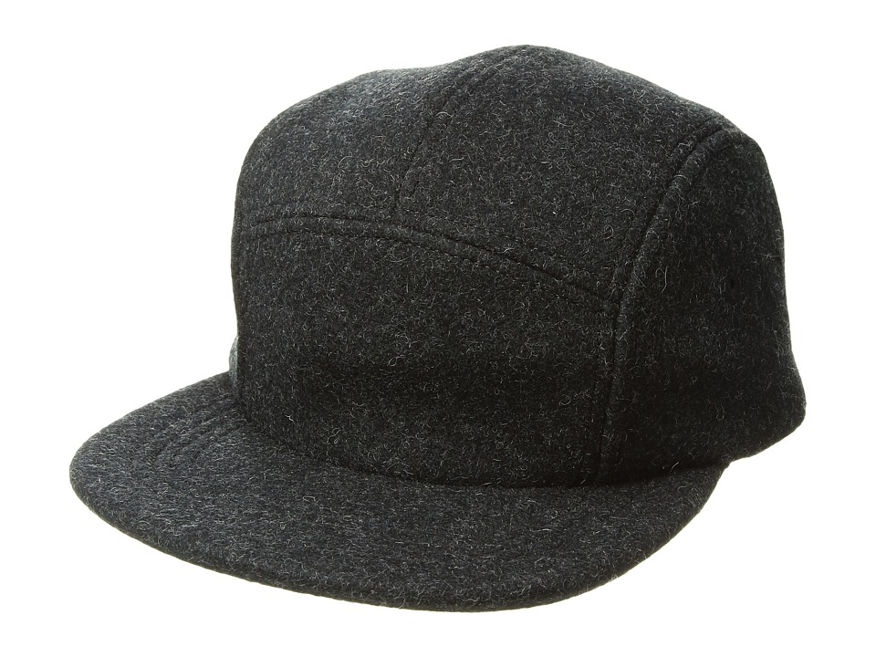 Filson - 5-Panel Wool Cap (Charcoal) Caps