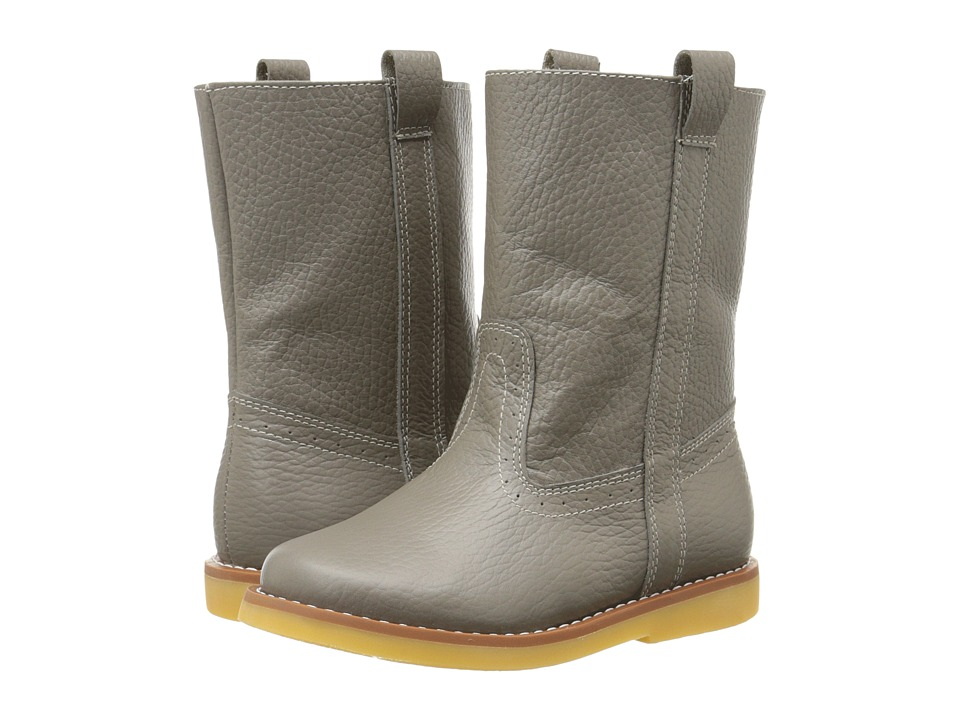 Elephantito - Western Boot (Toddler/Little Kid/Big Kid) (Gray) Cowboy Boots
