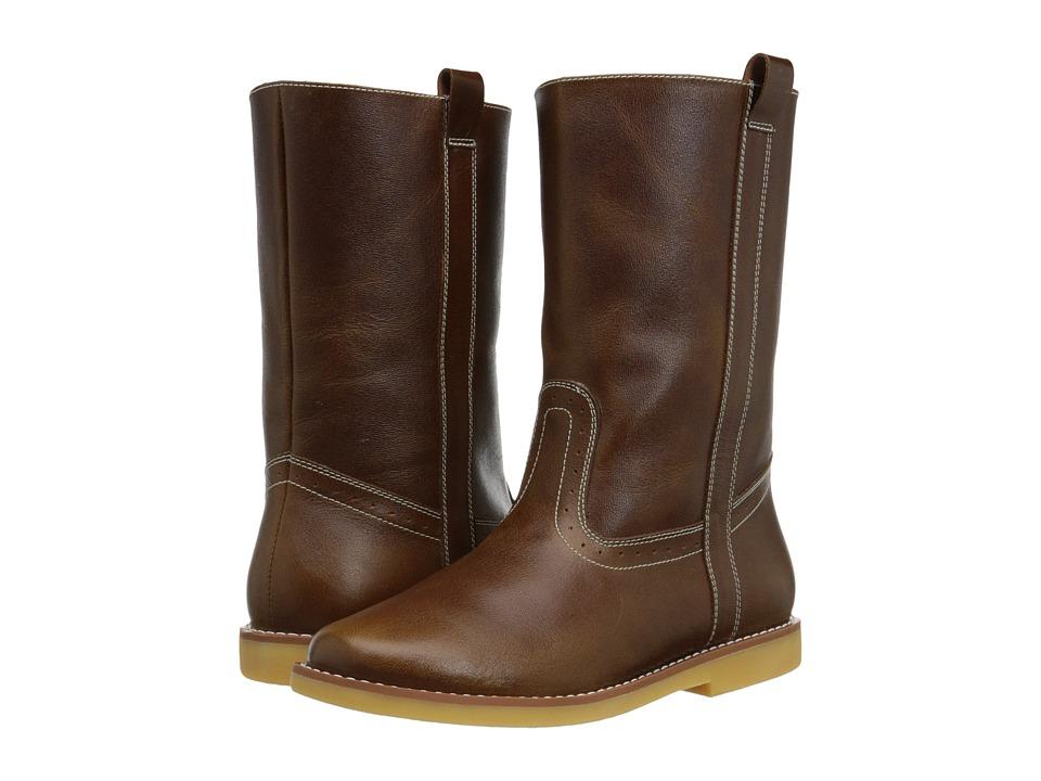 Elephantito Western Boot Toddler/Little Kid/Big Kid Brown Cowboy Boots