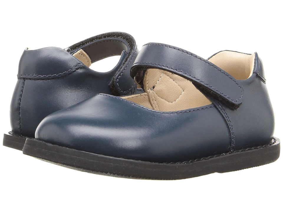 Elephantito - Scholar Mary Jane (Infant/Toddler) (Blue) Girls Shoes