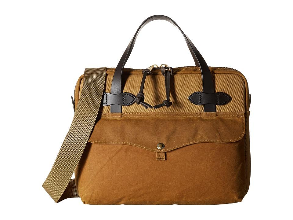 Filson - Tablet Briefcase (Tan) Briefcase Bags