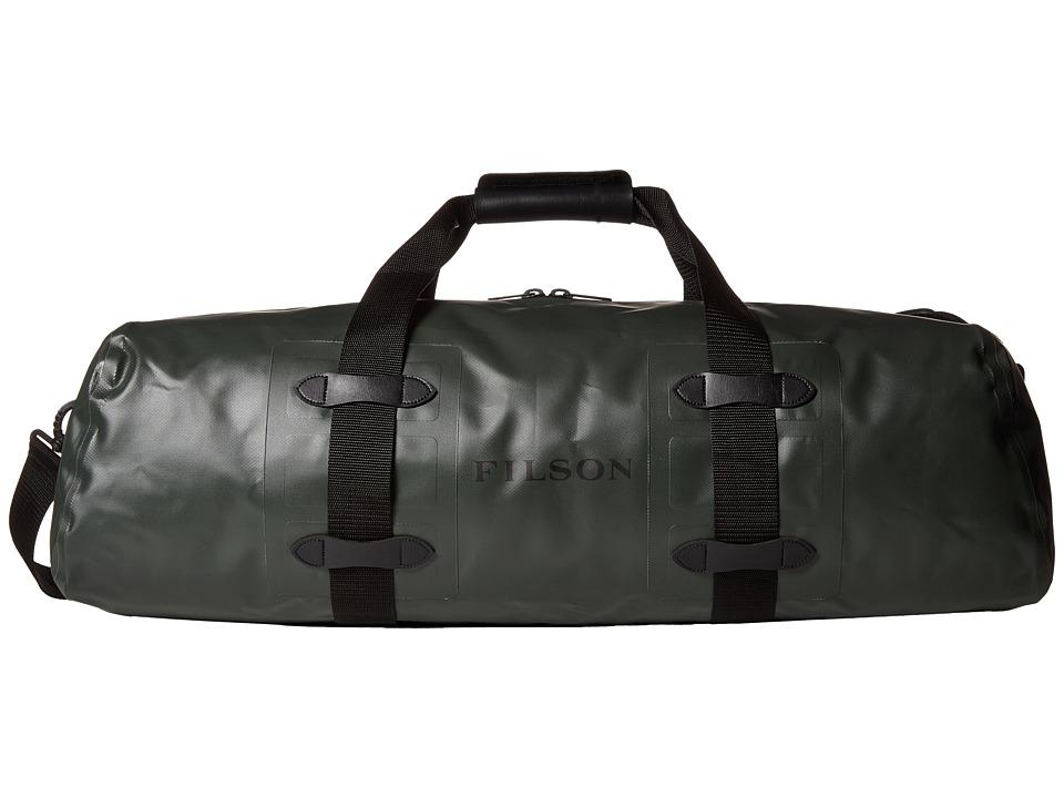 Filson - Dry Duffel - Medium Zip-Top (Green) Duffel Bags