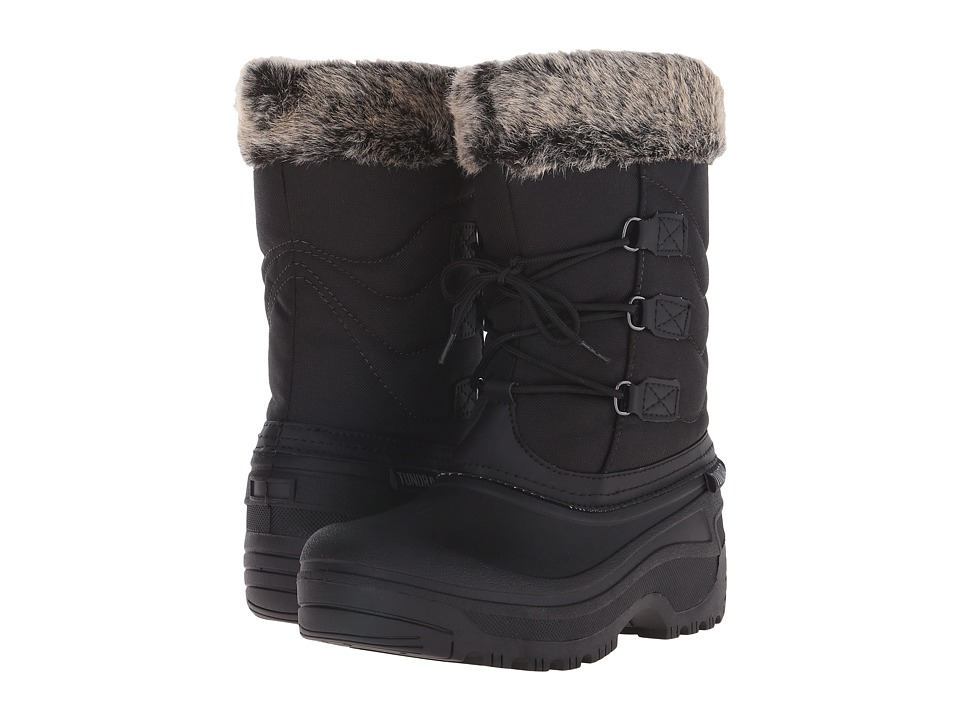Tundra Boots - Dot (Black/Grey) Womens Cold Weather Boots