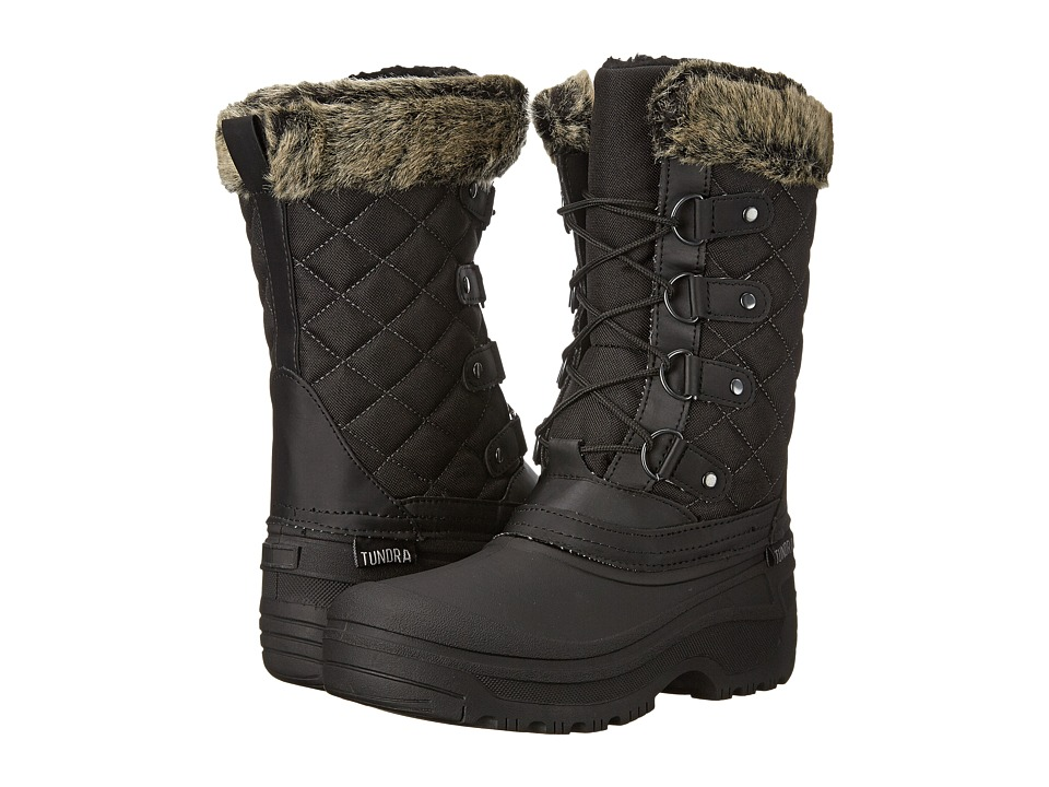Tundra Boots Augusta Black Womens Work Boots