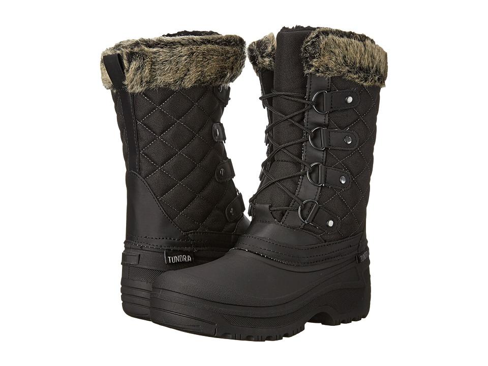 Tundra Boots - Augusta (Black) Women