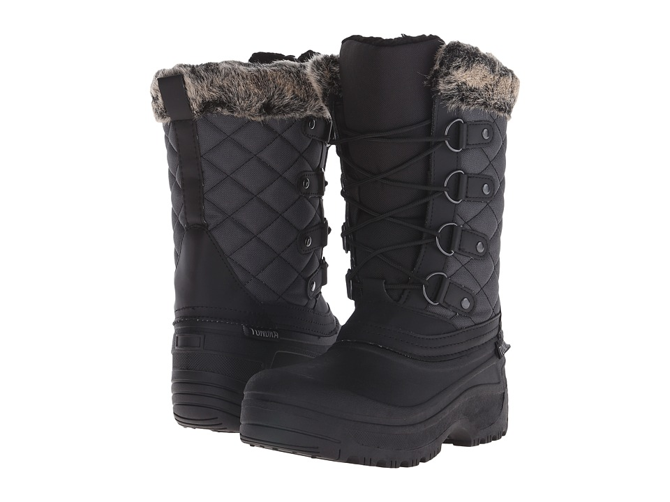 Tundra Boots Augusta (Black/Grey) Women