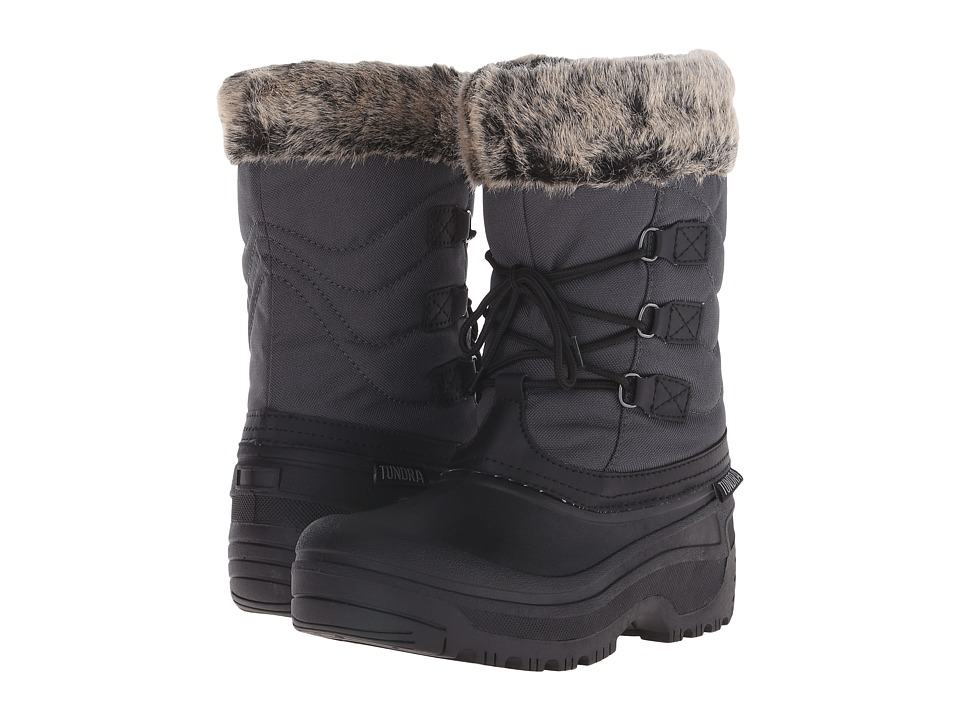 Tundra Boots Dot (Grey/Black) Women