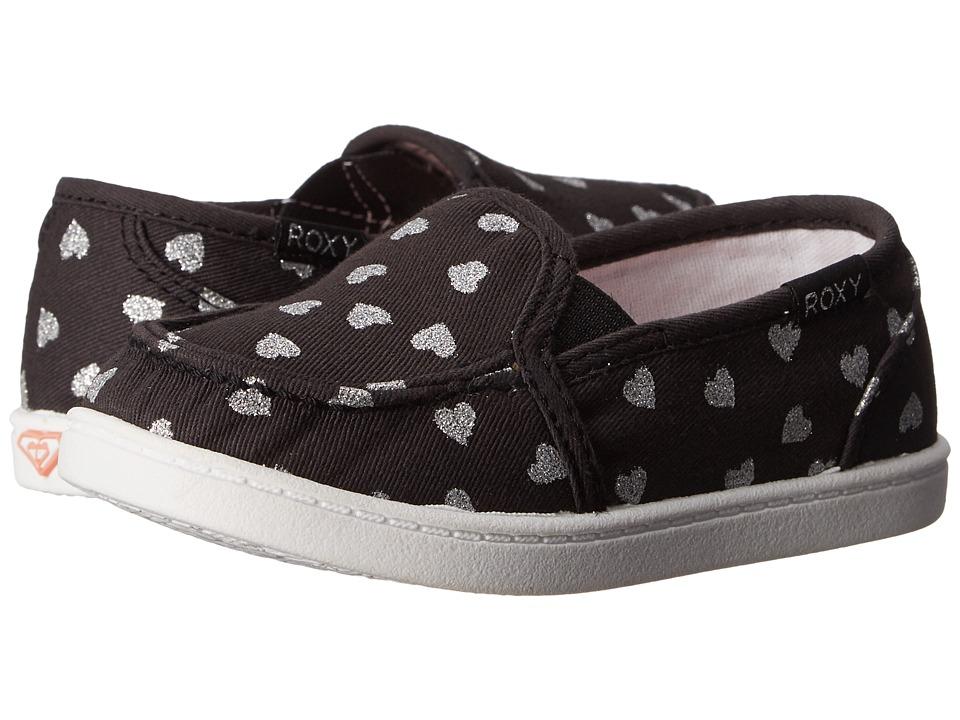 Roxy Kids Lido III Toddler Black/White Fade Girls Shoes