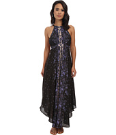 Free People - Chiffon Printed Caught In The Moment Dress