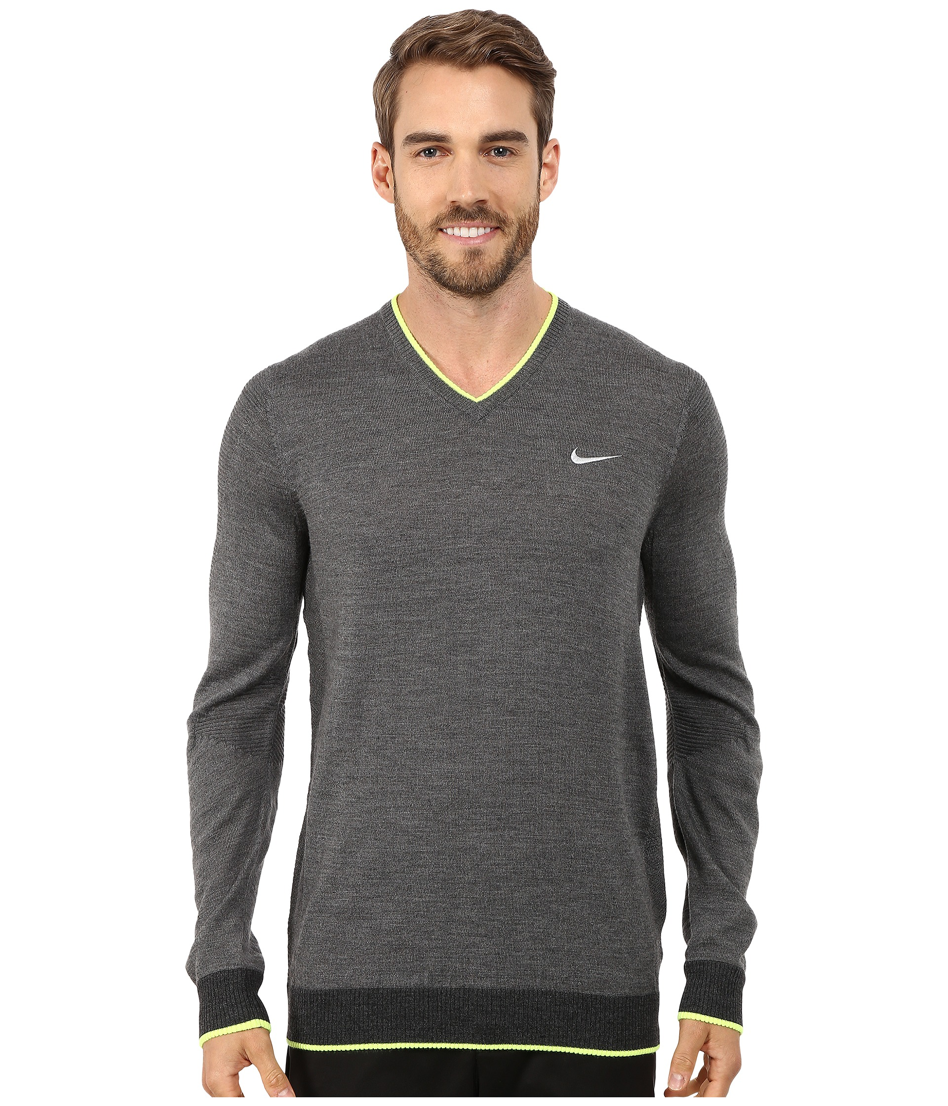 Knitting Patterns For Golf Jumpers : nike golf engineered knit 3d sweater