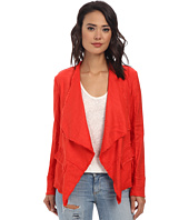 Free People - Raw Linen Drapey Jacket