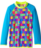 TYR - Peace & Love Rashguard (Little Kids/Big Kids)