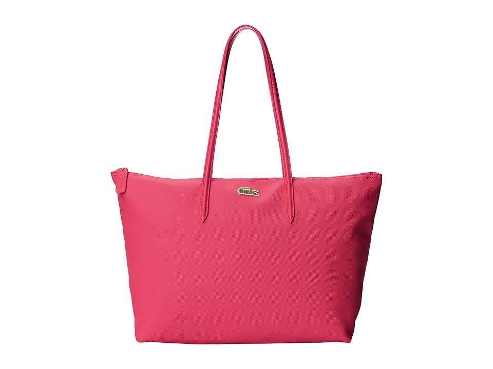 Lacoste - L.12.12 Concept Large Shopping Bag (Virtual Pink) Tote Handbags
