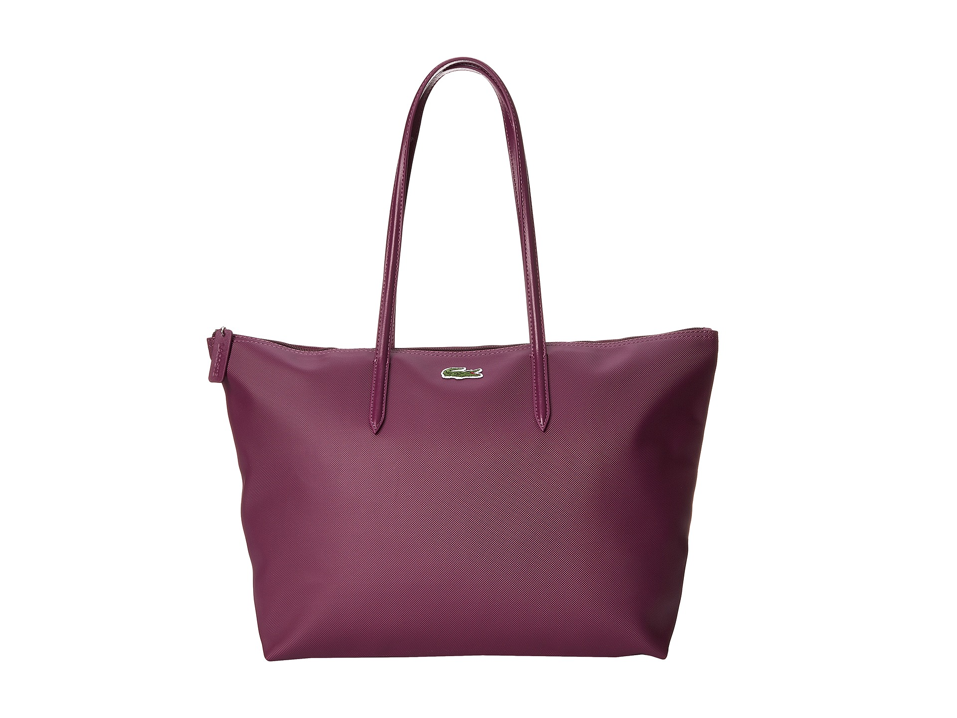 lacoste l 12 12 concept large shopping bag