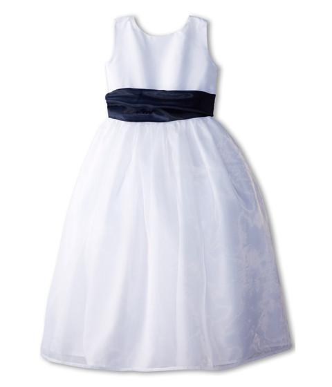 Us Angels Sleeveless Organza Dress (Little Kids)